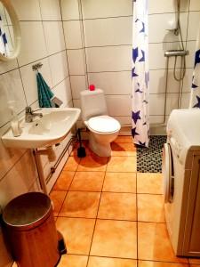 Eget badrum med golvvärme till oss!