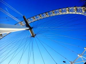 London Eye ligger alldeles nära Dungeon.