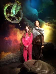 Katniss från Hunger Games fanns på plats...