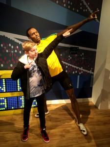 ...och Usain Bolt...