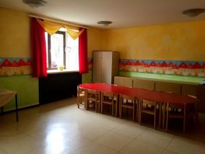 Barn- och söndagsskolerum. Man hade också ett rum för konfirmander, föredrag, bibelstudiekvällar, äldresamlingar mm.