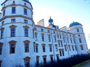 Slottets baksida.