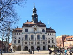 Rådhuset i Lüneburg.