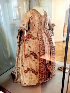 Caroline Mathildes klänning.