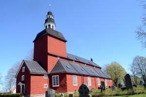 Väldigt fin kyrka i Habo.