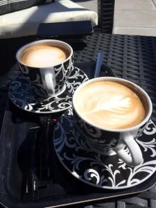 Cappuccino till oss.