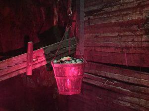 Djupt nere i gruvan