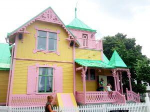 Och så Villa Villekulla. Originalhuset från Pippifilmerna.