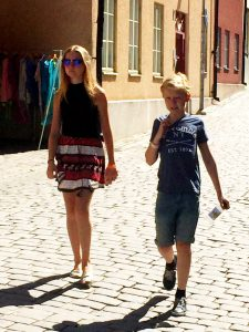 Promenad i Visby.