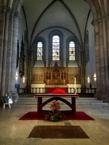 Koret i Sankta Maria.