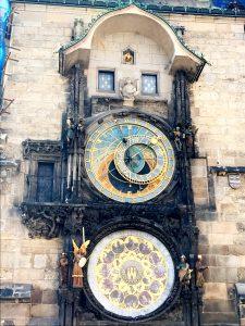 Det världsberömda astronomiska uret.