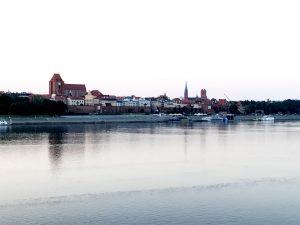 Torun ligger vid Wisla.